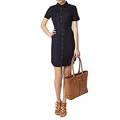 Dorothy Perkins - Tall navy utility dress