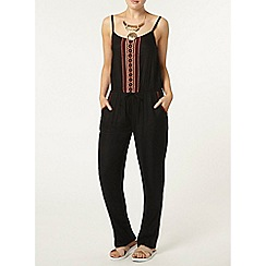 Dorothy Perkins - Contrast embroidered jumpsuit