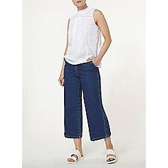 Dorothy Perkins - Ivory broderie vicoriana top