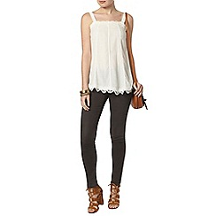 Dorothy Perkins - Border lace built up camisole top