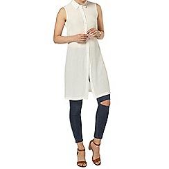 Dorothy Perkins - Sleeveless longline shirt
