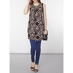 Dorothy Perkins - Tall diamond ditsy print tunic
