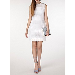 Dorothy Perkins - Tall shift broderie dress