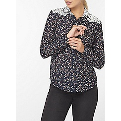 Dorothy Perkins - Mix and match ditsy print shirt