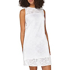 Dorothy Perkins - **tall ivory all over broderie dress