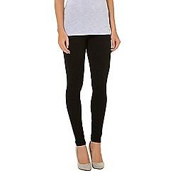 Dorothy Perkins - Buff black eden skinny jeans