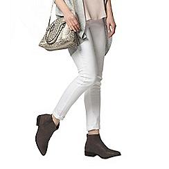 Dorothy Perkins - White harper jeans