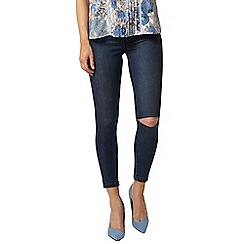 Dorothy Perkins - Ripped knee Eden capri jeggings