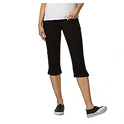 Dorothy Perkins - Black crop jeans