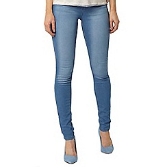 Dorothy Perkins - Bleach wash frankie jeans