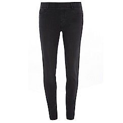 Dorothy Perkins - Tall charcoal 'eden' ultra soft jeggings