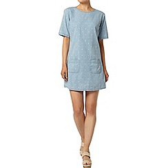 Dorothy Perkins - Bleach spot denim tunic