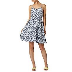 Dorothy Perkins - Palm print denim camisole dress