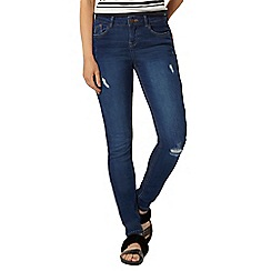Dorothy Perkins - Mid wash 'casey' relxed skinny jeans