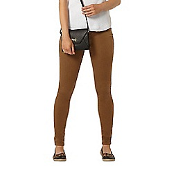 Dorothy Perkins - Tan frankie skinny jeggings