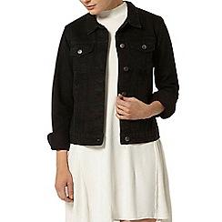 Dorothy Perkins - Black washed denim jacket