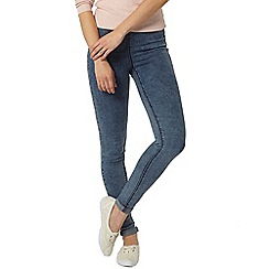 Dorothy Perkins - Acid wash lyla tube jeggings