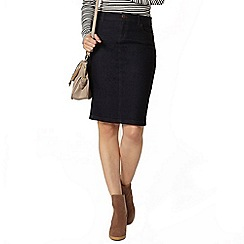 Dorothy Perkins - Indigo denim pencil skirt