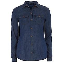 Dorothy Perkins - Tall indigo denim shirt