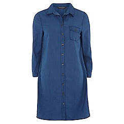 Dorothy Perkins - Tall denim shirt dress