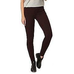 Dorothy Perkins - Aubergine 'eden' ultra soft jeggings