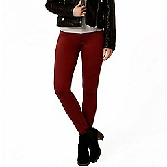 Dorothy Perkins - Russet 'frankie' ultra soft jeggings
