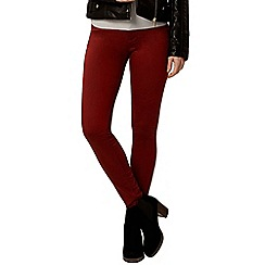 Dorothy Perkins - Russet 'frankie' ultra soft skinny jeans