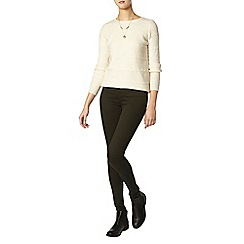 Dorothy Perkins - Tall dark khaki 'frankie' jeggings