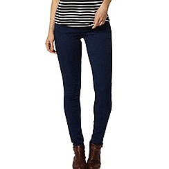 Dorothy Perkins - Deep blue 'bailey' ultra stretch jeggings