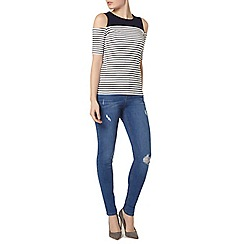 Dorothy Perkins - Bright blue 'casey' relaxed