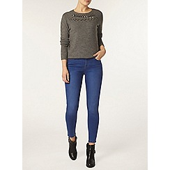 Dorothy Perkins - Bright blue 'darcy' skinny jeans
