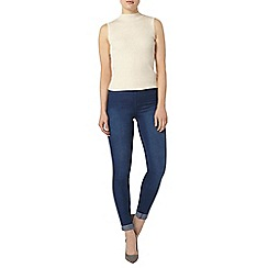 Dorothy Perkins - Bright blue 'lyla' high waist skinny tube pants