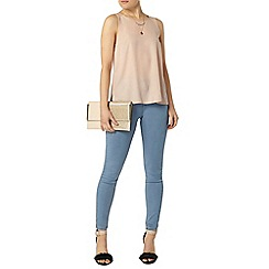 Dorothy Perkins - Light wash frankie super skinny jeggings