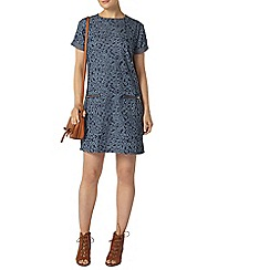 Dorothy Perkins - Daisy denim zip tunic dress