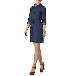Dorothy Perkins - Indigo denim shirt dress