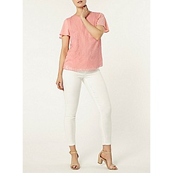 Dorothy Perkins - White 'frankie' capri ultra soft jeggings