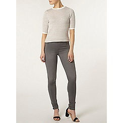 Dorothy Perkins - Pale grey 'eden' ultra soft jeggings