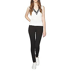 Dorothy Perkins - Tall high wasited black eden jeggings