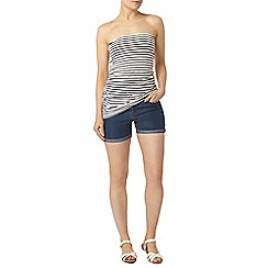 Dorothy Perkins - Midwash denim short