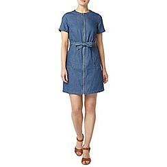 Dorothy Perkins - Utility zip through denim dress