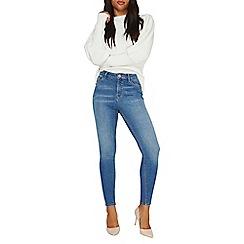 Dorothy Perkins - Blue 'cody' mid wash skinny jeans