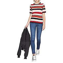 Dorothy Perkins - Midwash bailey ultra stretch skinny jeans