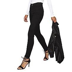 Dorothy Perkins - Black high waist bailey skinny jeans