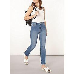 Dorothy Perkins - Tall cropped kickflare midwash jeans
