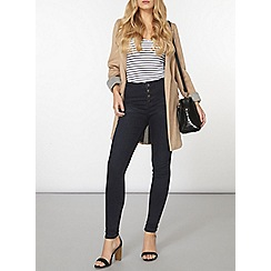 Dorothy Perkins - Fashion button fly skinny jeans