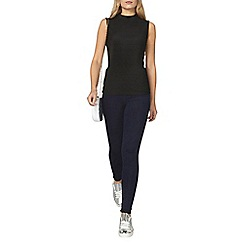 Dorothy Perkins - Rinse indigo lyla high waisted tube pants