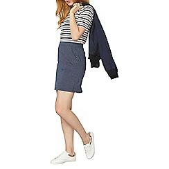 Dorothy Perkins - Pinstripe denim mini skirt