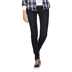 Dorothy Perkins - Tall blue black eden ultra soft jeggings