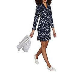 Dorothy Perkins - Tall denim floral shirt dress