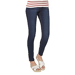 Dorothy Perkins - Indigo abrasion 'darcy' super skinny jeans